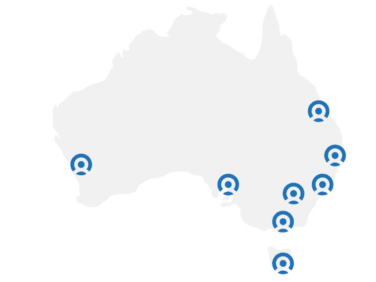 JobWire Australia locations